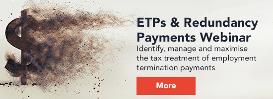 ETP & Redundancy Payments
