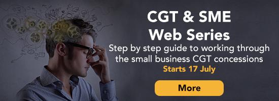 CGT & SMEs Web Series