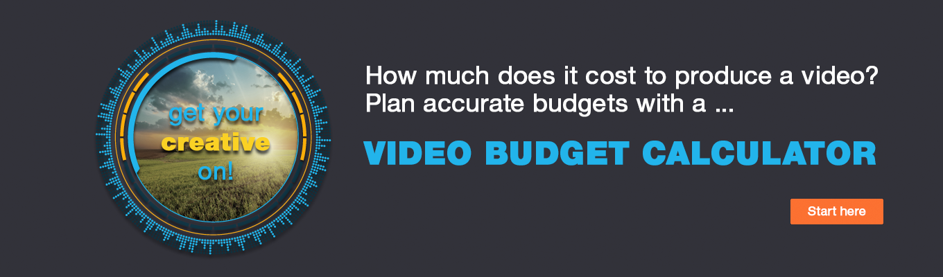 Video Budget Calculator CTA