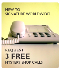 3 Free Mystery Shop Calls