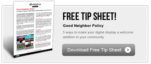 Free Tip Sheet - Good Neighbor