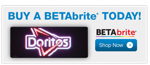 BUY a BETAbrite TODAY!