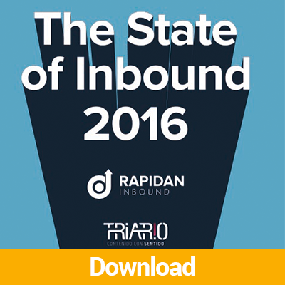 2016 State of Inbound Marketing and Sales Download