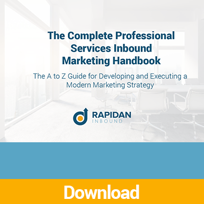 Complete Professional Services Inbound Marketing Guide