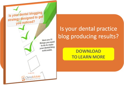 DENTAL MARKETING BLOG CHECKLIST