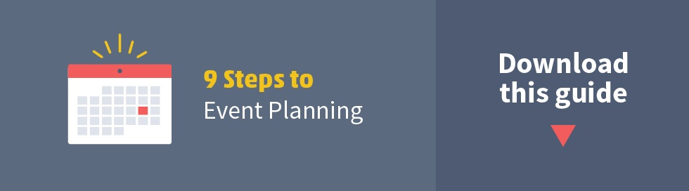 9 Steps to Event Planning