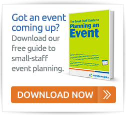 Download our free guide to small-staff event planning
