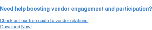 How to Engage Your Vendors