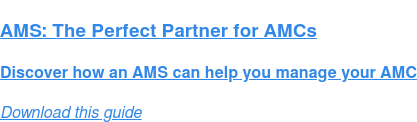 AMS: The Perfect Partner for AMCs