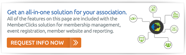 Request More Info on our All In One Association Management Solution