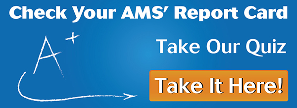 Click here to see how well  your AMS is working for you