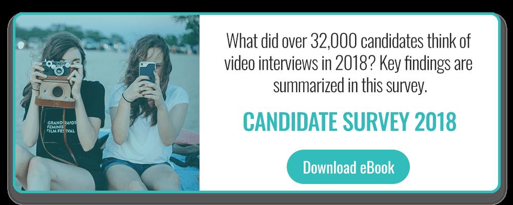 Candidate survey 2018