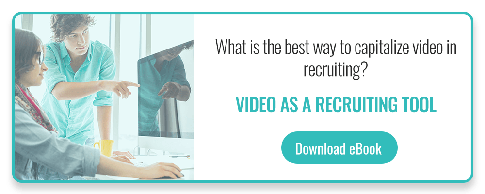 Video as a recruiting tool