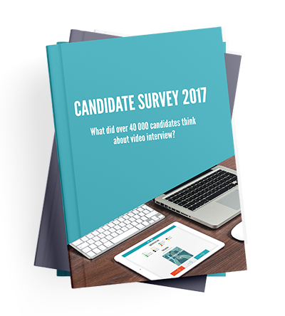 Video interview candidate survey 2017