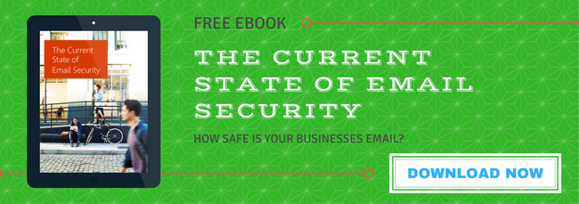 state of email security ebook