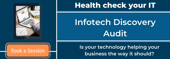 book a discovery audit to health check your it