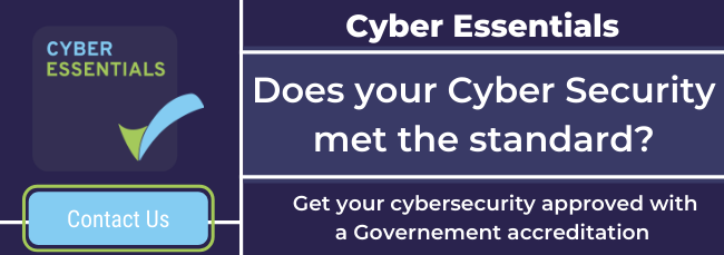 contact us for information on becoming cyber essentials accredited