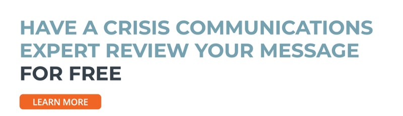 Click here for a free review of your crisis communication draft →