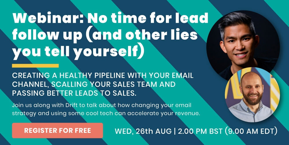 Webinar: I have no time for lead follow up