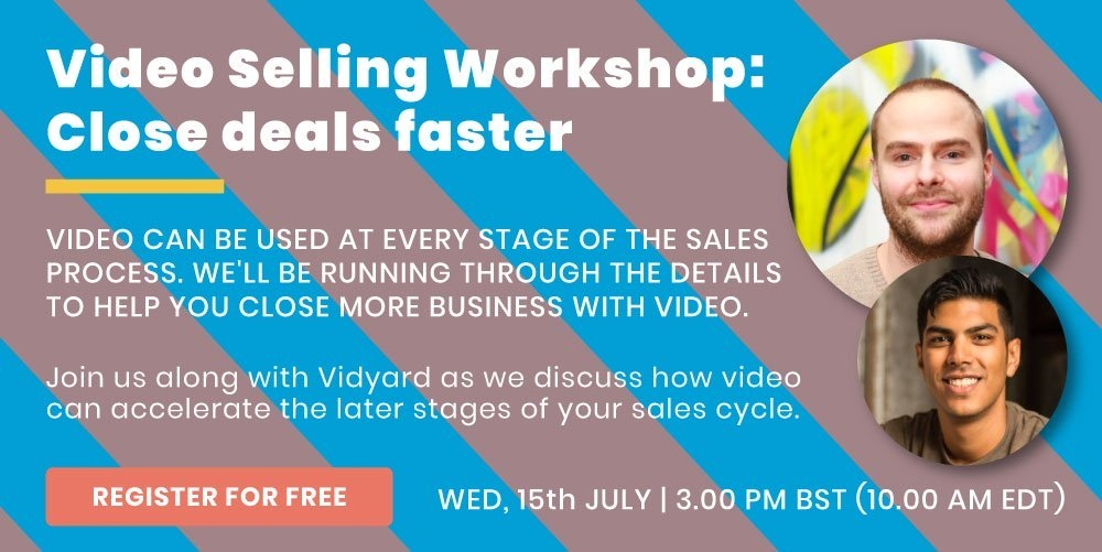 Video Selling Workshop