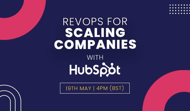 RevOps for scaling webinar