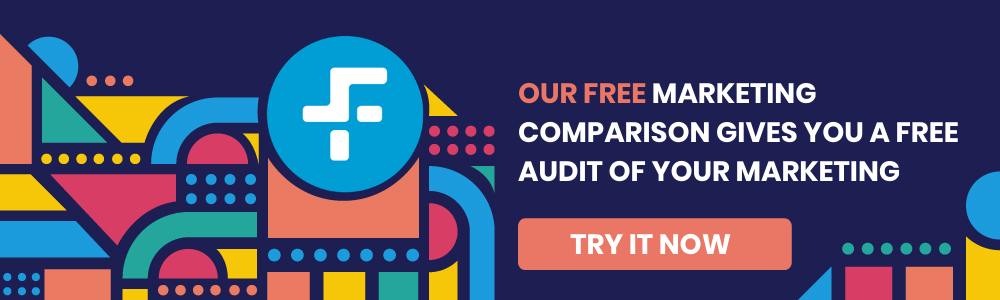 Marketing comparison tool