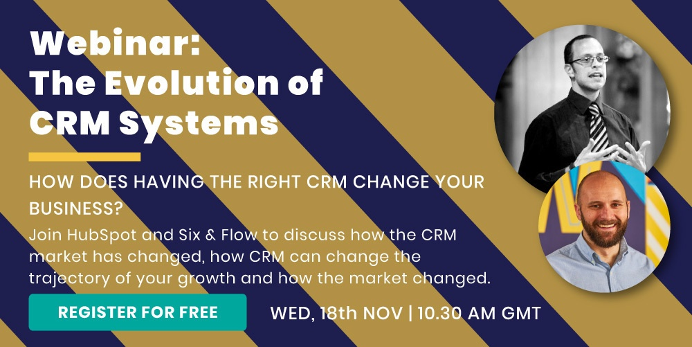 Webinar: The Evolution of CRM Systems