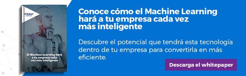 """Regístrate y descarga el whitepaper """"El Machine Learning hará a tu empresa cada vez más inteligente"""""""