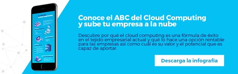 Regístrate y descarga gratis la infografía: El ABC del Cloud Computing