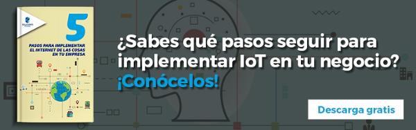 Ebook: 5 Pasos para implementar el IoT en tu empresa