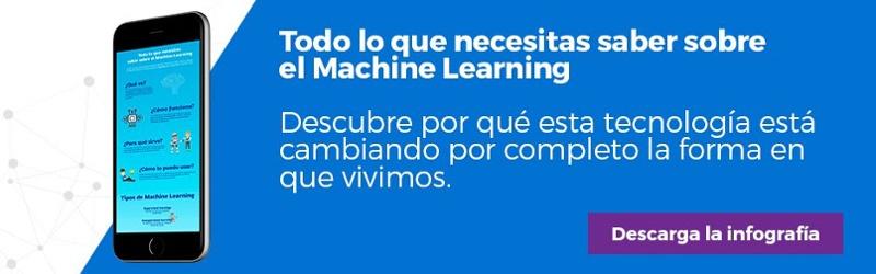 """Regístrate y descarga la infografía """"Todo lo que necesitas saber sobre el Machine Learning"""""""