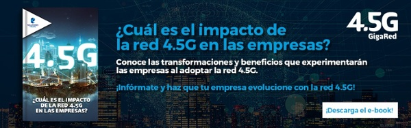 descarga ebook impacto de la red 4.5G en las empresas Telcel