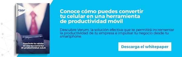 Regístrate y descarga gratis el ebook: Convierte tu celular en una herramienta de productividad móvil