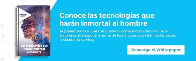 """Regístrate y descarga """"Las tecnologías que harán inmortal al hombre"""""""