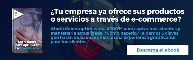 Las 5 claves para optimizar tu e-commerce