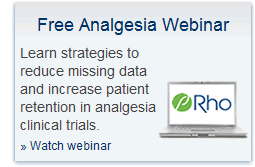Register for a free analgesia development webinar
