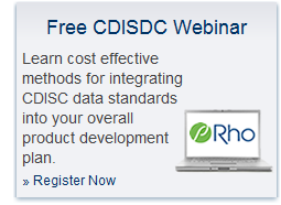 Register for a free CDISC webinar