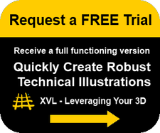 Request a free trial to quickly create robust technical illustrations with XVL.