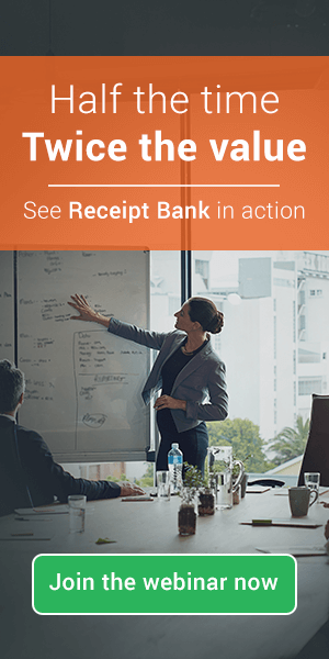 See how Receipt Bank can help you save time and boost your profits