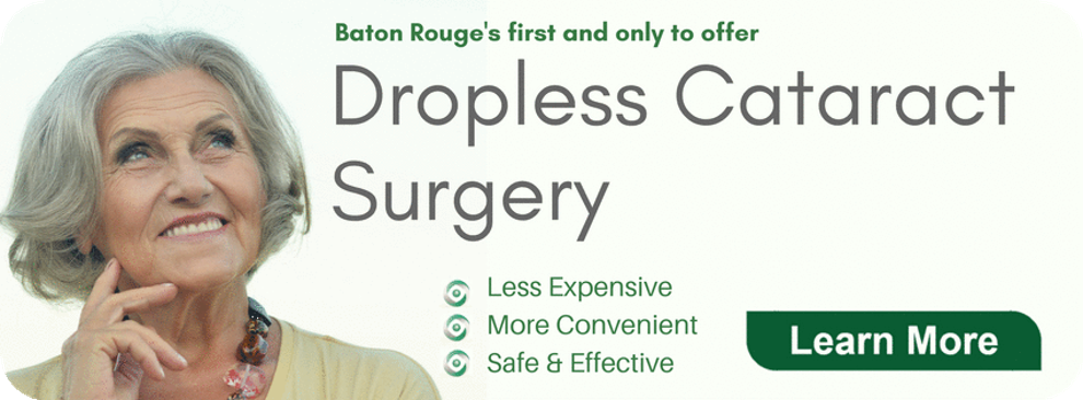 dropless cataract surgery baton rouge