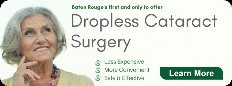 dropless cataract surgery baton rouge