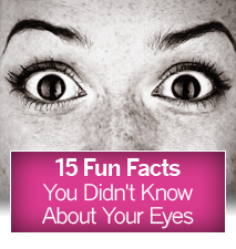 15 Facts About Your Eyes