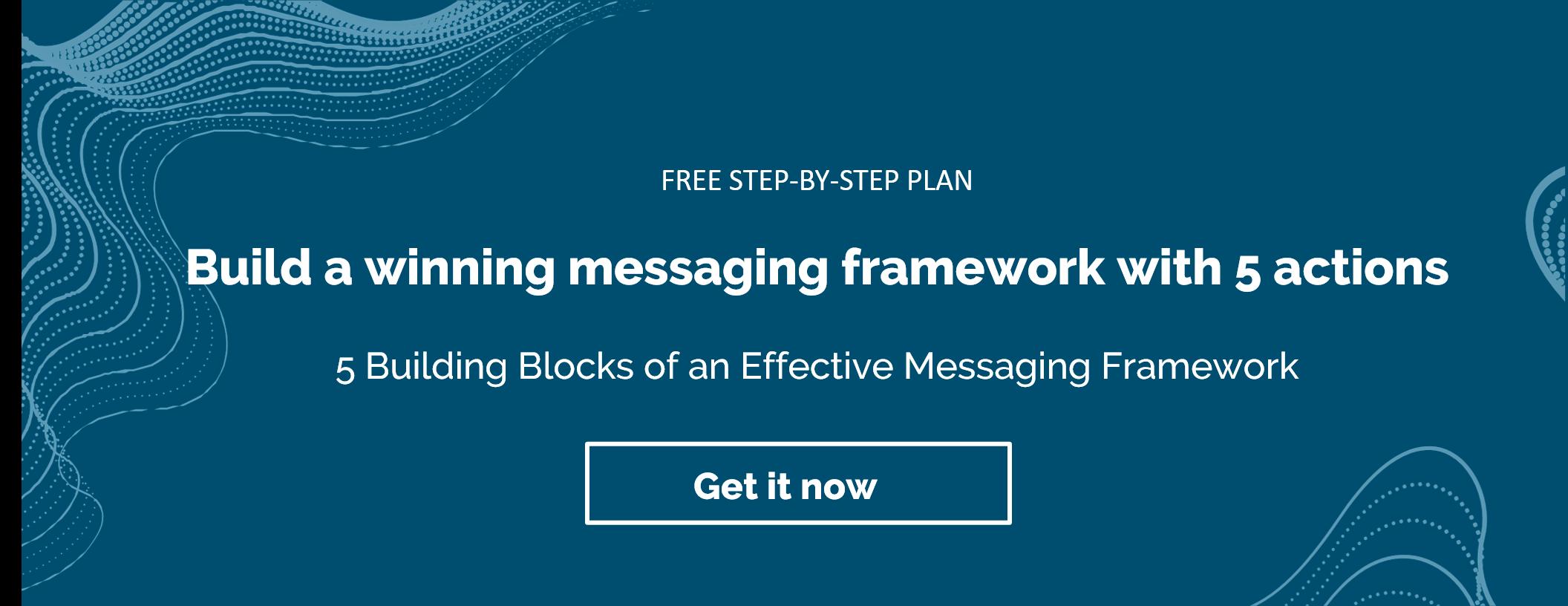 messaging framework_cta