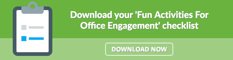 Fun Activities For Office Engagement Infographic Free Download