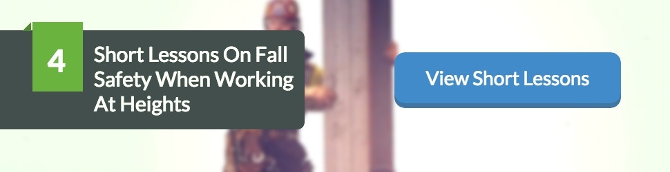 4 Short Lessons On Fall Safety When Working At Heights