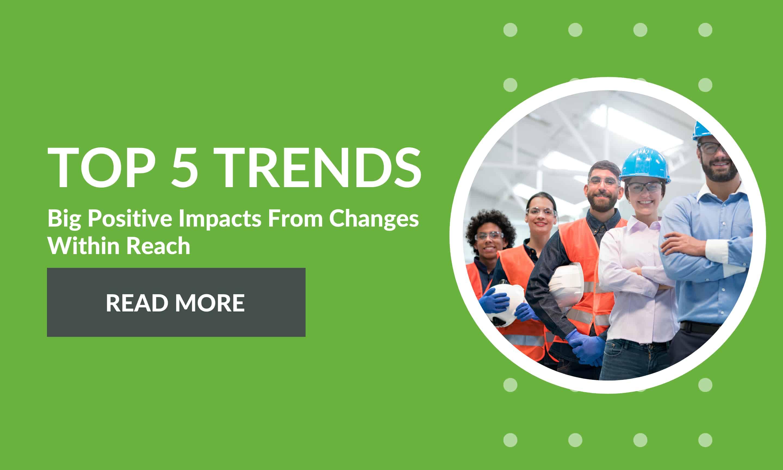 top five trends that make a big impact