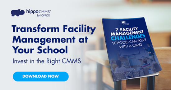 transform facility management at your school ebook cover