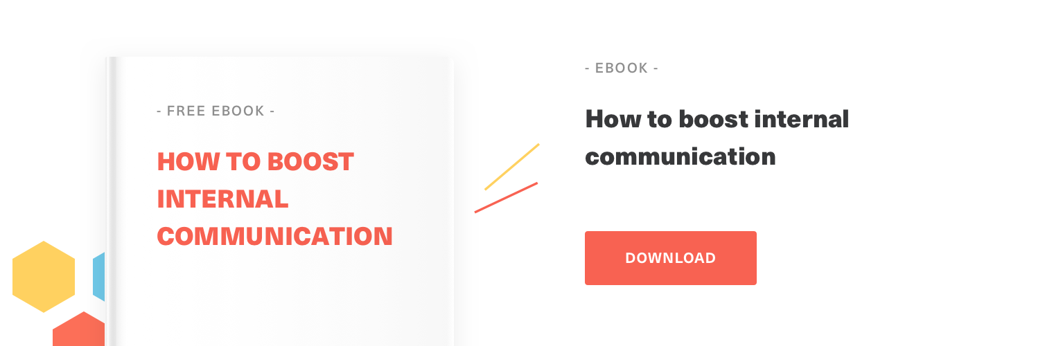 A free guide on how to boost internal communication