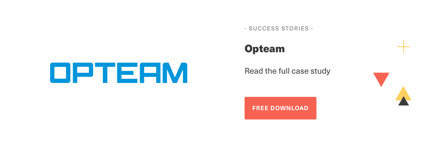 Download Opteam Case Study Call to Action | Smarp