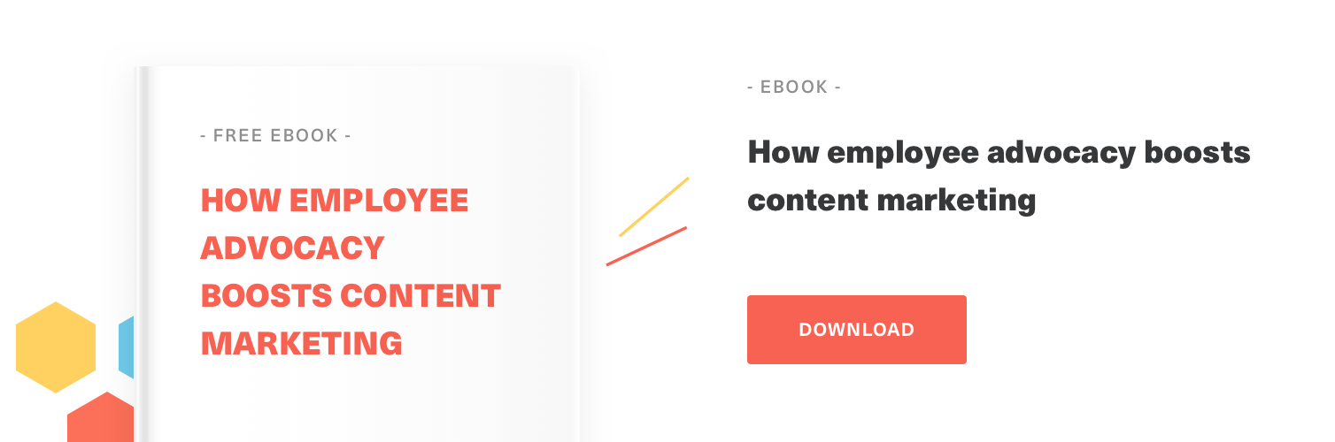 Free Guide on How employee advocacy boosts content marketing